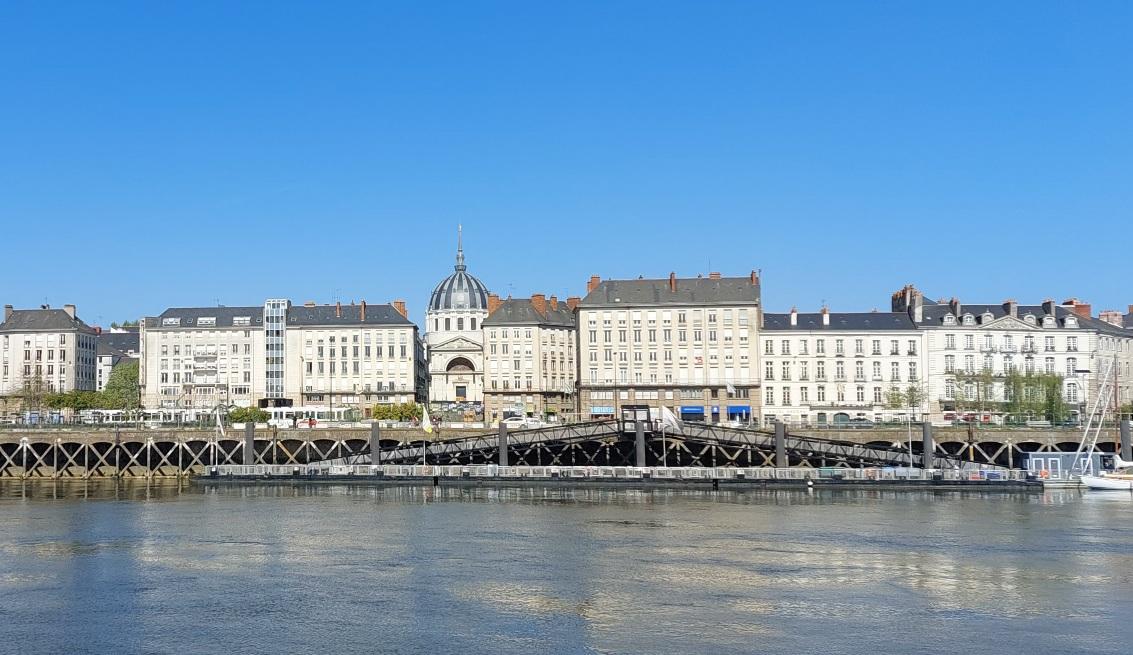 Le Quai de la Fosse, nouveau quartier branché à Nantes