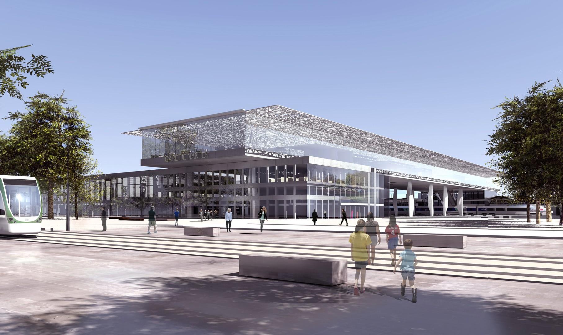 La nouvelle gare de Nantes ouvrira début novembre