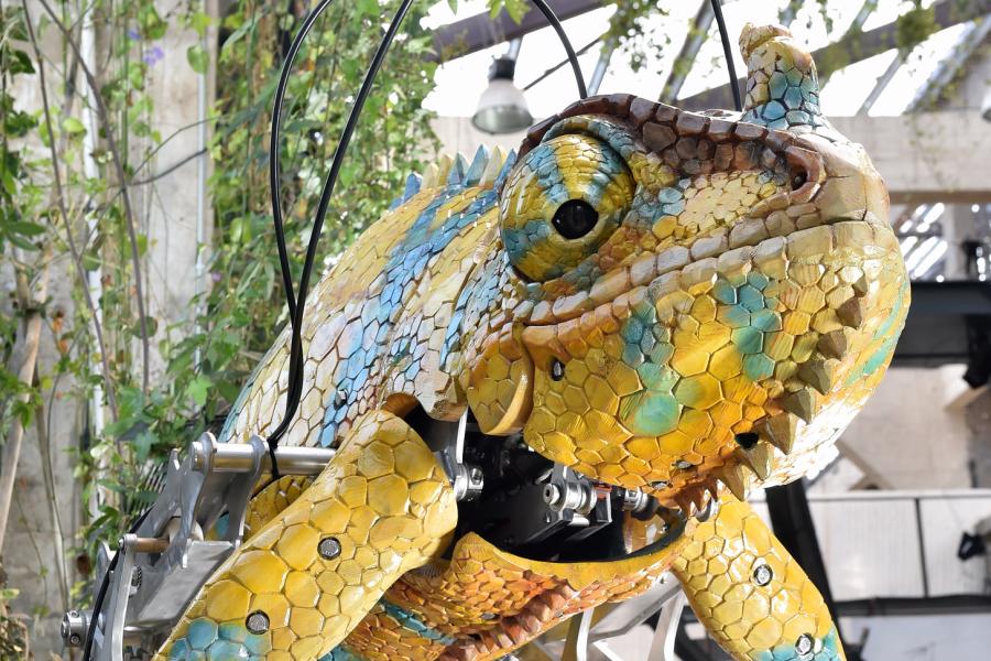 Nantes : Le caméléon géant sera visible le 22 mai !