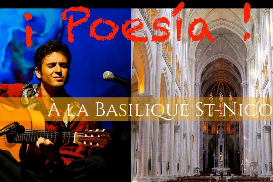 Poesia, la soirée concert à la basilique Saint Nicolas de Nantes