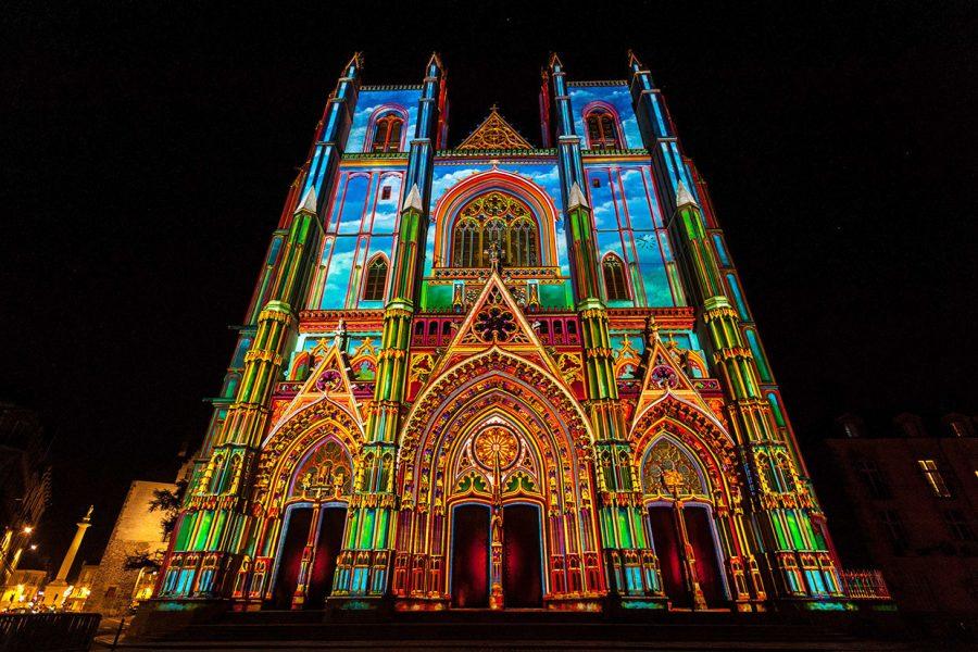 Le spectacle féérique d'Alain Thomas illuminera la cathédrale de Nantes pour Noël 2021