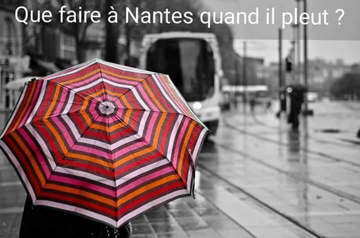 Nantes quand il pleut
